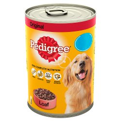 Pedigree Dog Food Tin Original in Loaf 400g MPP 85p