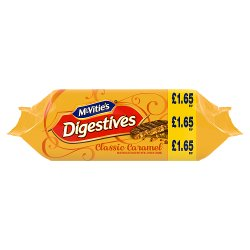 McVitie's Digestives Classic Caramel Biscuits 250g