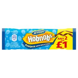 Hobnob Chocolate Flapjack