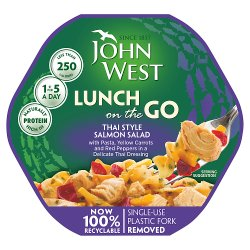 John West Lunch on the Go Thai Style Salmon Salad 220g