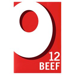 Oxo Beef Stock Cubes 12