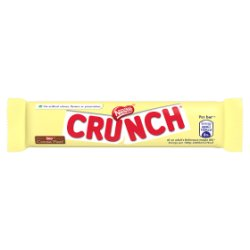 Crunch White Chocolate Bar 31g