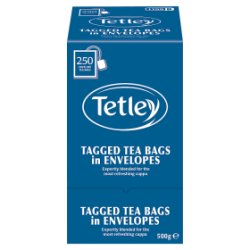 Tetley Enveloped Tea Bags x250