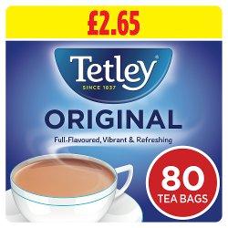 Tetley Original Tea Bags PMP x80