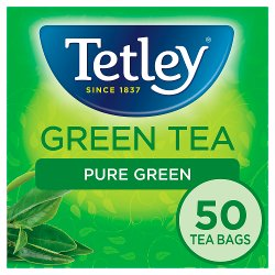Tetley Pure Green Tea Bags x50