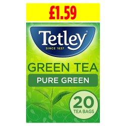 Tetley Green Tea Pure Green 20 Tea Bags 40g