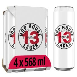 Hop House 13 Lager 4 x 568ml Can