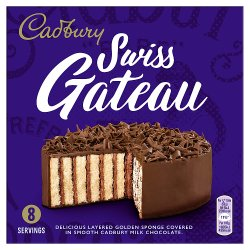 Cadbury Swiss Gateau