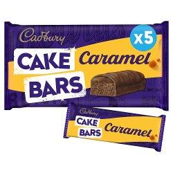 Cadbury 5 Caramel Cake Bars
