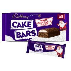 Cadbury 5 White Chocolate Flavour Cake Bars