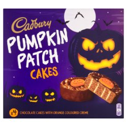 Cad Pumpkin Patch Cakes 4pk