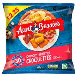 Aunt Bessie's Crunchy Homestyle Croquettes 550g
