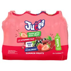 Jucee No Added Sugar Summer Fruits 8 x 1.5 Ltr