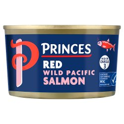 Princes Red Wild Pacific Salmon 213g