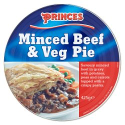 Princes Minced Beef & Veg Pie 425g