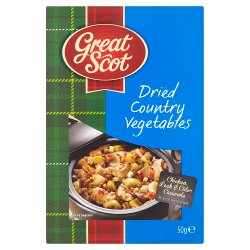 Great Scot Dried Country Vegetables 50g