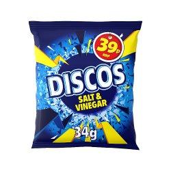 Discos Salt & Vinegar Flavour 34g