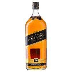 Johnnie Walker Black Label Blended Scotch Whisky 1.5L