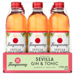 Tanqueray Flor De Sevilla Distilled Gin & Tonic 12 x 275ml