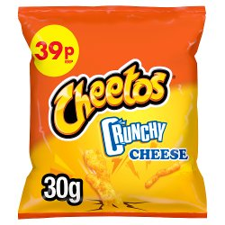 Cheetos Crunchy Cheese Snacks PMP 30g