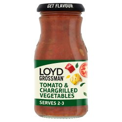 Loyd Grossman Tomato & Chargrilled Vegetables Pasta Sauce 350g