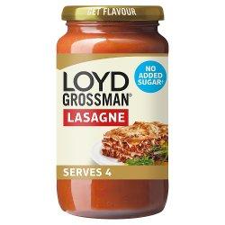 Loyd Grossman No Added Sugar Red Lasagne Sauce 450g