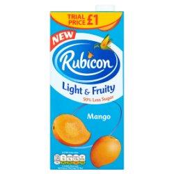 Rubicon Light & Fruity Still Mango Juice Drink 1L Carton
