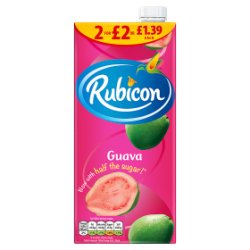 Rubicon Guava Juice Drink 1L, PMP £1.39 or 2 for £2