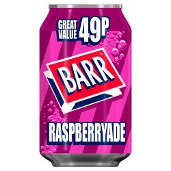 Barr Raspberryade 330ml Can, PMP 49p