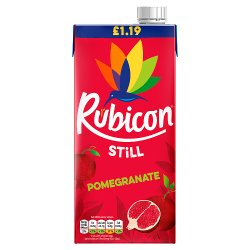 Rubicon Still Pomegranate Juice Drink 1L, PMP £1.19