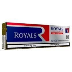 Royals Red Kingsize 10 x 20 Filter Cigarettes