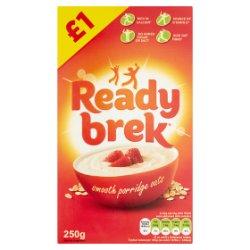 Ready Brek Smooth Porridge Oats Original 250g £1 PMP