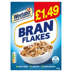 Weetabix Food Company Branflakes Case 10 x 500g PMP £1.49