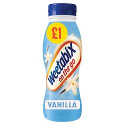 Weetabix On the Go Breakfast Drink Vanilla 8 x 250ml PMP £1