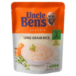 UNCLE BEN'S® Classic Long Grain Rice 250g