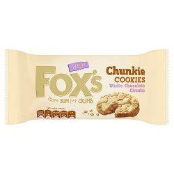 Fox's Chunkie Cookies White Chocolate Chunks 180g
