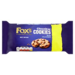 Fox's Chunkie Cookies Milk Chocolate 180g