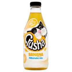Crusha Milkshake Mix Banana Flavour 1 Litre