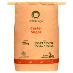 British Sugar Caster Sugar 25kg