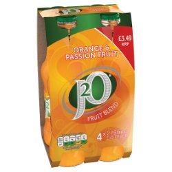 J2O Fruit Blend Orange & Passion Fruit 4 x 275ml