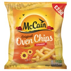 McCain Original Oven Chips Straight 825g