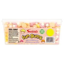 Swizzels Fun Gums Foam Mushrooms 600 Count
