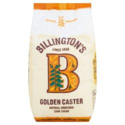 Billington's Golden Caster Natural Unrefined Cane Sugar 1kg