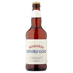 Brakspear Oxford Gold Beer 500ml