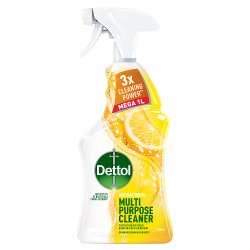 Dettol Clean & Fresh Multipurpose Sparkling Lemon & Lime Burst 1000ml