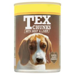 Tex Chunks with Beef & Liver 400g