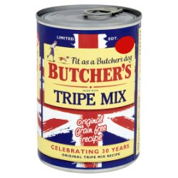 Butcher's Tripe Mix Dog Food Tin 400g