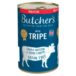 Butcher's Nourishing Food for Dogs with Tripe 1200g