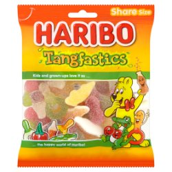 HARIBO Tangfastics Bag 140g