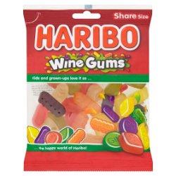 HARIBO Wine Gums Bag 140g